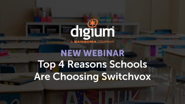 Top 4 Reasons Schools Are Choosing Switchvox