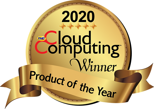 2020 Cloud Computing Magazine Product of the Year Award