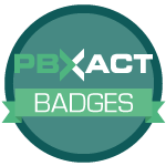 PBXact Badges