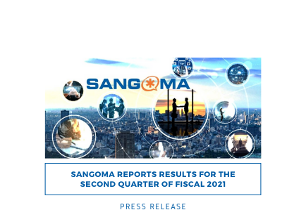 Sangoma Reports Results for the Second Quarter of Fiscal 2020 - PRESS RELEASE