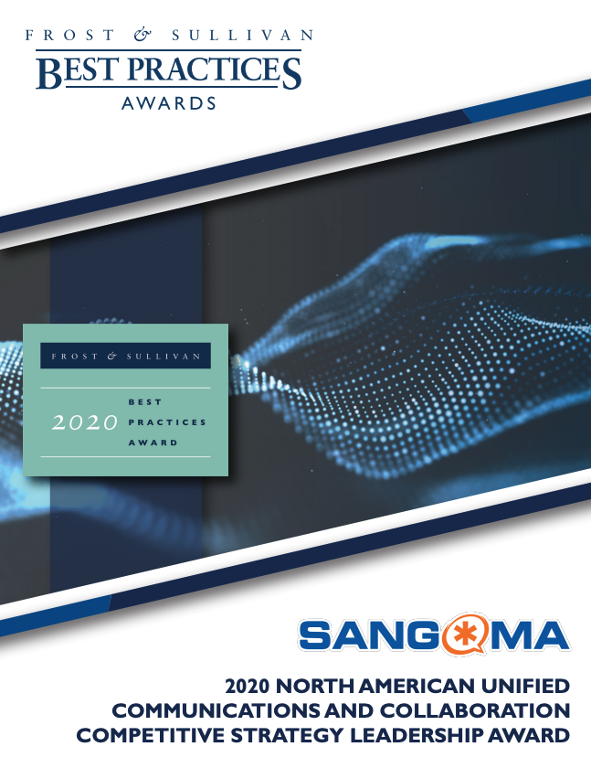 F&S Award - 2020 North American Unified Communications and Collaboration Competitive Strategy Leadership Award