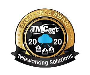 TMCnet 2020 Excellence Award - Teleworking Solutions