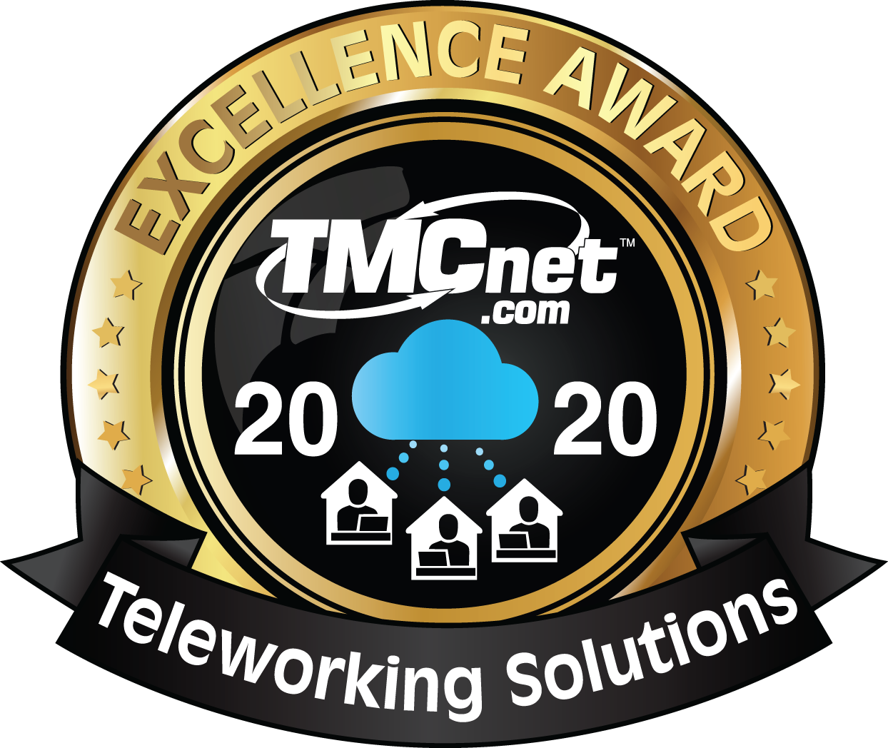 TMCnet.com Excellence Award for Teleworking Solutions with Sangoma Meet™