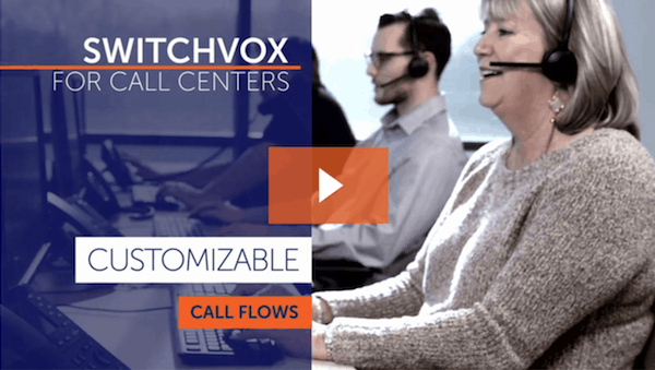 Switchvox For Call Centers - Customizable Call Flows