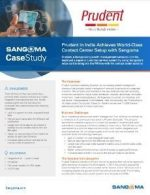 Prudent in India Achieves World-Class Contact Center Setup with Sangoma