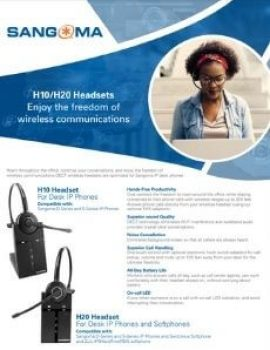 H10 / H20 for IP Phones Datasheet Cover page