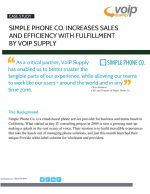 Simple Phone co and VoIP Supply Success Story Thumbnail