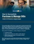 How to Successfully Purchase and Manage DIDs