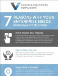7 Reasons Why Your Enterprise Needs Wholesale SIP Trunking