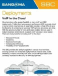 VoIP in the Cloud Cheatsheet